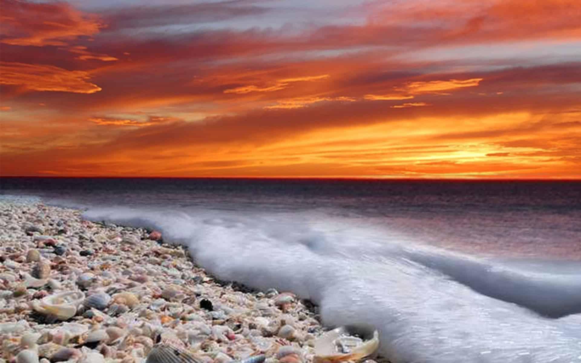 Sancap Slider Sunset Beach Sanibel