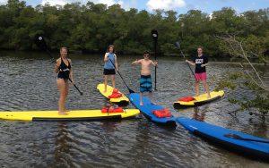 Sanibel Island Captiva Island Nature Paddle Board