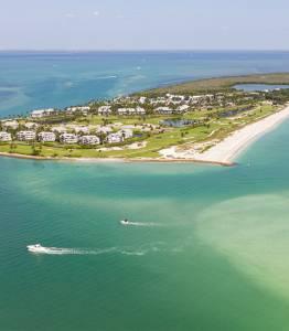 Aerial View of Sanibel Island