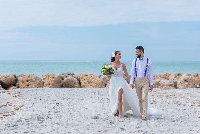 Sanibel Island Weddings on the beach